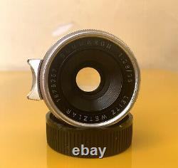 RARE LEICA SUMMARON M39 35mm F2.8 (M39 Screw mount LTM)
