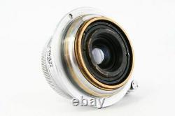 RARE Nikon W-NIKKOR C 2.8cm f/3.5 L39 LTM Leica Screw Mount Lens