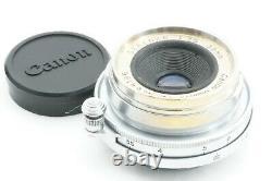 RARE! TESTED / EXC++ CANON SERENAR 35mm f3.5 Leica screw mount L39 LTM JAPAN