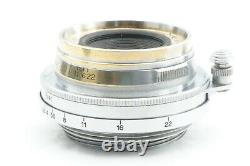 RARE! TESTED / EXC++ CANON SERENAR 35mm f3.5 Leica screw mount L39 LTM JAPAN