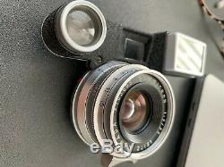 RARE VINTAGE Leitz Leica Summicron 12/35mm (35mm F2) M Mount with Glasses