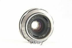 RARE W-Komura 35mm f/3.5 f 3.5 Lens for Leica L39 Screw Mount from Japan #1546