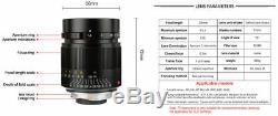 REAL EU SHIP! 7Artisans FE-PLUS 28mm f/1.4 lens for SONY CANON (Leica-M-mount)
