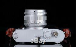 REAL EU SHIP SILVER, 7Artisans 50mm f/1.1 manual lens for Leica-M-mount 50/1.1