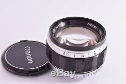 Rare CANON 50mm/F1.2 Leica 39mm LMT screw mount