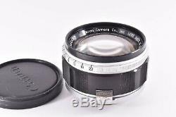 Rare CANON 50mm/F1.2 Leica 39mm LMT screw mount #43488