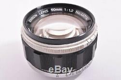 Rare CANON 50mm/F1.2 Leica 39mm LMT screw mount #44714