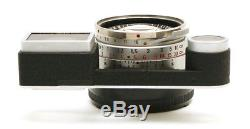 Rare Mint Condition Leica 35mm f1.4 Summilux Steel Rim M Mount Lens 27300