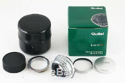 Rare! Rollei Sonnar 40mm f/2.8 HFT MF Lens for Leica L39 Screw & M Mount 5919