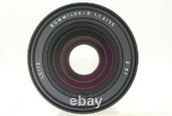 Rare! Top Mint Leica Summilux R 35mm F1.4 E67 3cam R Mount Mf Lens By Fedex
