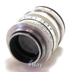 Rare Zeiss 5.8cm 58mm f/1.5 Sonnar lens Leica LTM screw mount EXC+