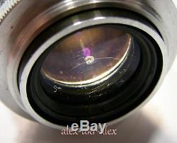 Red Jupiter-3 1,5/50 mm lens M39 Zorki Leica M39 mount. Excellent. 6303011