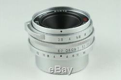 Ricoh 28mm F/2.8 GR Lens for Leica L39 LTM Mount #22257 H1