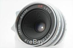 Ricoh 28mm F/2.8 GR Lens for Leica L39 LTM Mount with Fimder BOX from JP 777-f485