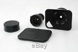 Ricoh GR 21mm f/3.5 Black Limited for LTM Leica Screw Mount Very Good #2200