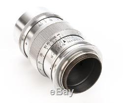Rokkor Super 8.5cm f/2.8 for Leica M39 Mount