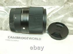 SIGMA 30mm F1.4 DC DN CONTEMPORY PRIME LENS LEICA L MOUNT NEW in BOX & HOOD