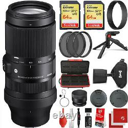 Sigma 100-400mm f/5-6.3 DG DN OS Contemporary for Leica L-Mount + 128GB Kit