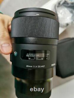 Sigma 35mm F1.4 DG HSM ART lens for L-Mount cameras (Sigma, Leica and Panasonic)