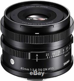 Sigma 45mm F2,8 DG DN L-Mount Objektiv Lens Contemporary für L-Mount Leica