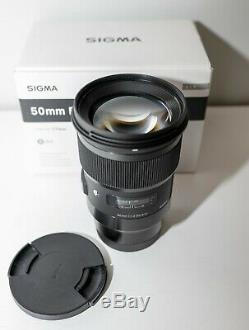 Sigma 50mm F/1.4 DG HSM Art Lens Leica L Mount