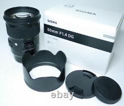 Sigma Art DG 1.4 50mm Panasonic / Leica L-mount Objektiv An-Verkauf ff-shop24