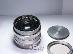 Sonnar 1.5/50mm #3051681 Carl Zeiss Jena, M39 L39 Leica screw mount lens