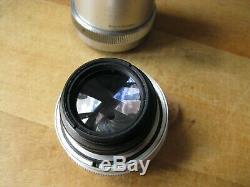 Steinheil Munchen 85mm Culminar f/2.8 VL Lens in Leica Screw Mount