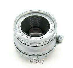 Superb Leica L39 Mount 3.5cm F3.5 Summaron, Late c1959, UK Dealer