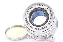 TANAR H. C. 5cm 50mm f2.8 f/2.8 Tanaka Kogaku Japan Leica screw mount Lens #57082