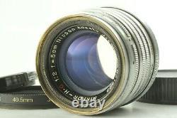TESTED! EXC+5 Nikon Nikkor H. C 5cm 50mm f/2 Leica Screw Mount L39 LTM JAPAN