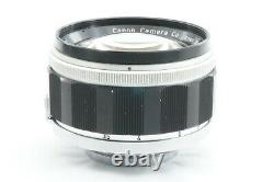 TESTED / EXC CANON 50mm f1.2 Leica screw mount L39 LTM From JAPAN