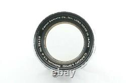 TESTED / EXC++ CANON 50mm f1.4 Leica screw mount L39 LTM From JAPAN
