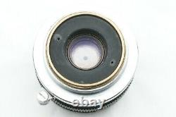 TESTED/EXC++ Sankyo Koki Tokyo W-KOMURA- 35mm f2.8 Leica screw mount LTM JAPAN