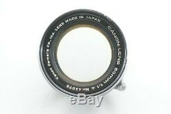 TESTED / Very Good CANON 50mm f1.4 Leica screw mount L39 LTM From JAPAN