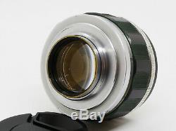 TESTED / WATCH EXAMPLE Canon 50mm f/1.2 Leica Screw Mount L39 LTM from JAPAN