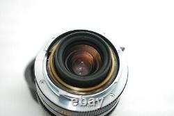 TOP MINTLeica Elmarit-M 28mm F2.8 E49 3rd Leica M-Mount M6 MP etc #4152