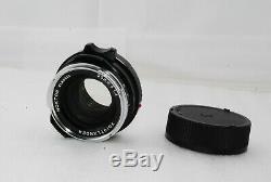 TOP MINTVoigtlander Nokton Classic 35mm f/1.4 MC Lens for Leica M-Mount #2911