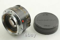 TOP MINT Minolta M Rokkor 40mm F/2 Lens Leica M Mount For CL CLE From JAPAN