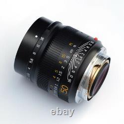 TTartisan 50mm F1.4 ASPH Large Aperture Manual Lens for Leica M M1 M2 Mount
