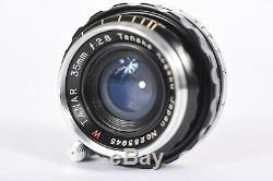 Tanaka Kogaku W TANAR 35mm f/2.8 Lens for Leica Thread Mount LTM L39 #P3945