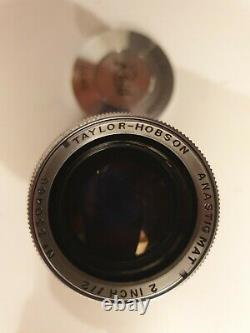 Taylor Hobson 50mm f2 LTM Leica mount lens