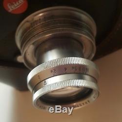 Taylor Hobson leica thread mount 50mm f2 lens