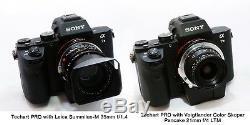 Techart upgrade LM-EA7 II Auto Focus Adapter Leica M mount lens to Sony E A7R2