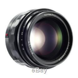 VOIGTLANDER NOKTON 50mm F1.1 ASPHERICAL VM LENS 4 LEICA M MOUNT / MINT / 90D WRT