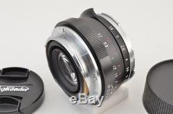 VOIGTLANDER NOKTON CLASSIC 40mm F1.4 VM MF Lens for Leica M Mount #180918h