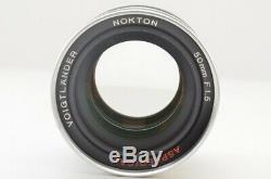 VOIGTLANDER Nokton 50mm F1.5 Aspherical for Leica L39 Screw Mount #190704an