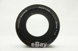 VOIGTLANDER Nokton 50mm F1.5 Aspherical for Leica L39 Screw Mount #200522f