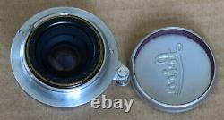 Very Clean ++Leica Summaron 35mm f/3.5 Lens Screw mount