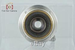 Very Good! Canon 28mm f/3.5 L39 LTM Leica Thread Mount Lens